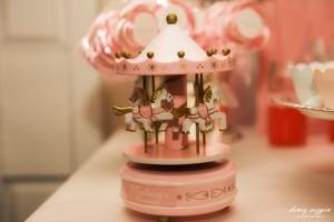 Melina carousel konsept doğum günü hazırlıkları.