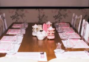 Melina 1 Yaş Doğum Günü Partisi Davetli Masası
