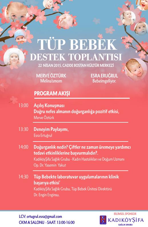 tüp bebek destek toplantısı